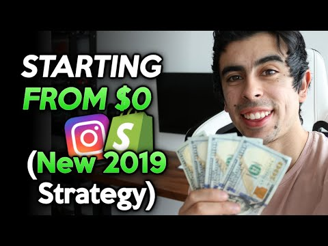 NEW How To Start A Shopify Store From $0 in 2019