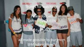 "Mindless Behavior ""Mrs. Right"" @ 98.5 KLUCs End of Summer Block Party Final  & backstage"