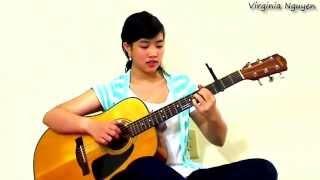 Một Mình - Nhạc sĩ Lam Phương -  Guitar Virginia Nguyen(bé Mẫn)