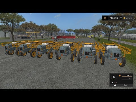 Farming simulator 17 Timelapse Australian x16 Map Broad acres Ep#43