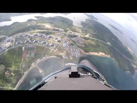 Показательные полеты Су-35