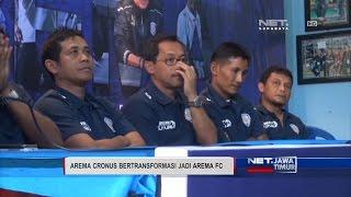 NET. JATIM - AREMA CRONUS BERTRANSFORMASI JADI AREMA FC