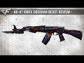 CrossFire NA 2 0 AK 47 KNIFE OBSIDIAN BEAST BORN BEAST Review mp3