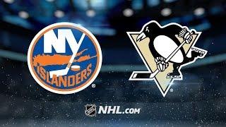 Penguins top Islanders, 2-1, in shootout