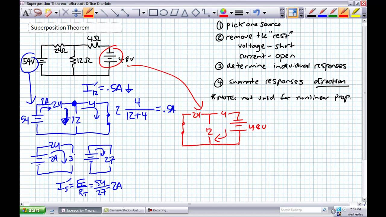 Superposition Theorem Youtube Find The Thvenin Equivalent With Respect To 1nf Capacitor