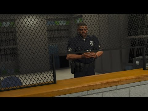 LSPDFR Police Station Armory