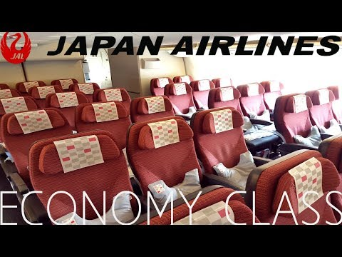Japan Airlines ECONOMY CLASS Tokyo To London|Boeing 777-300ER