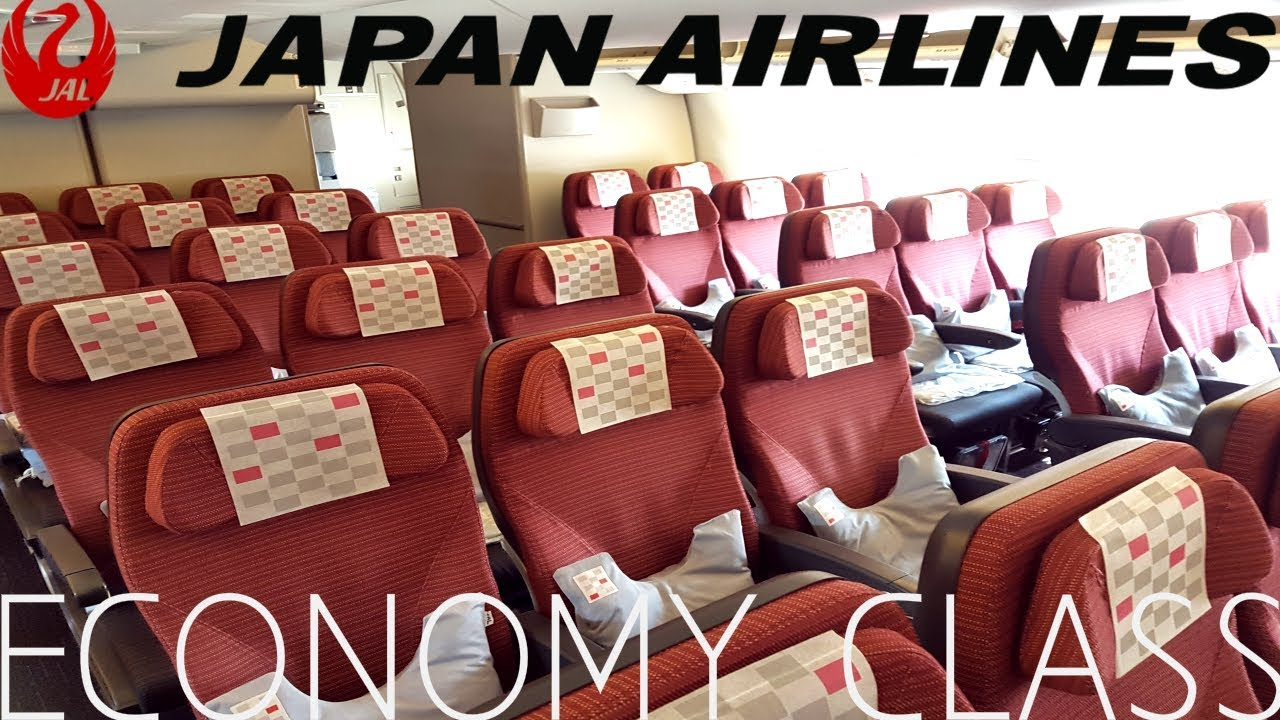 Japan Airlines Economy Class Tokyo To London