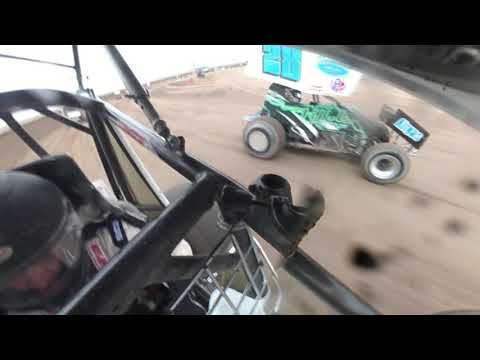 John Webster - Sprint Car Ride along @ Belleville High Banks