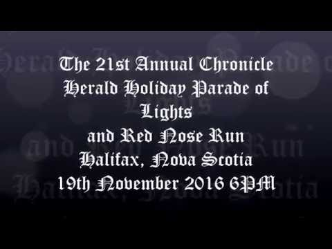 The 21st Annual Parade of Lights and Red Nose Run - Halifax 2016