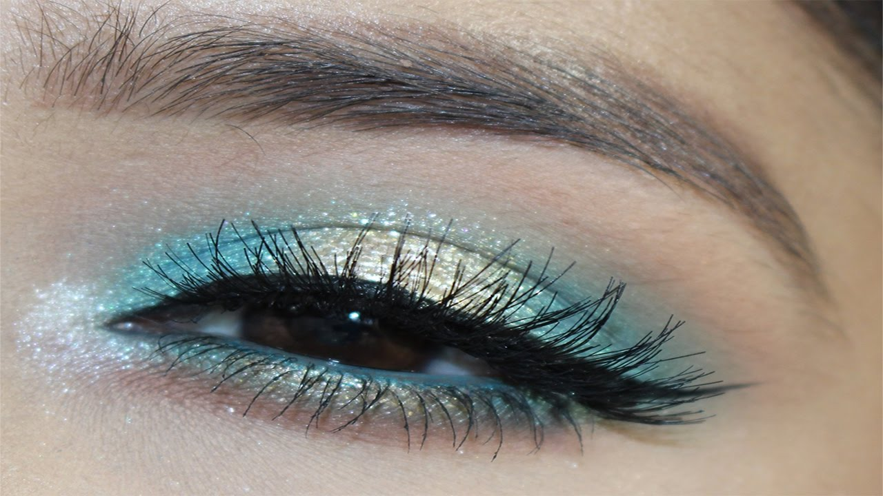 Drugstore Turquoise Halo Eye Makeup For Brown Eyes L Infallible