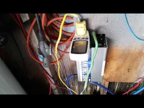 Kilo-watt Meter Not Working - 4 Golf Cart Batteries Still Powering My Cabin