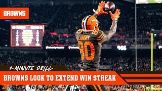Browns look to extend win streak vs. Dolphins | 2 Minute Drill