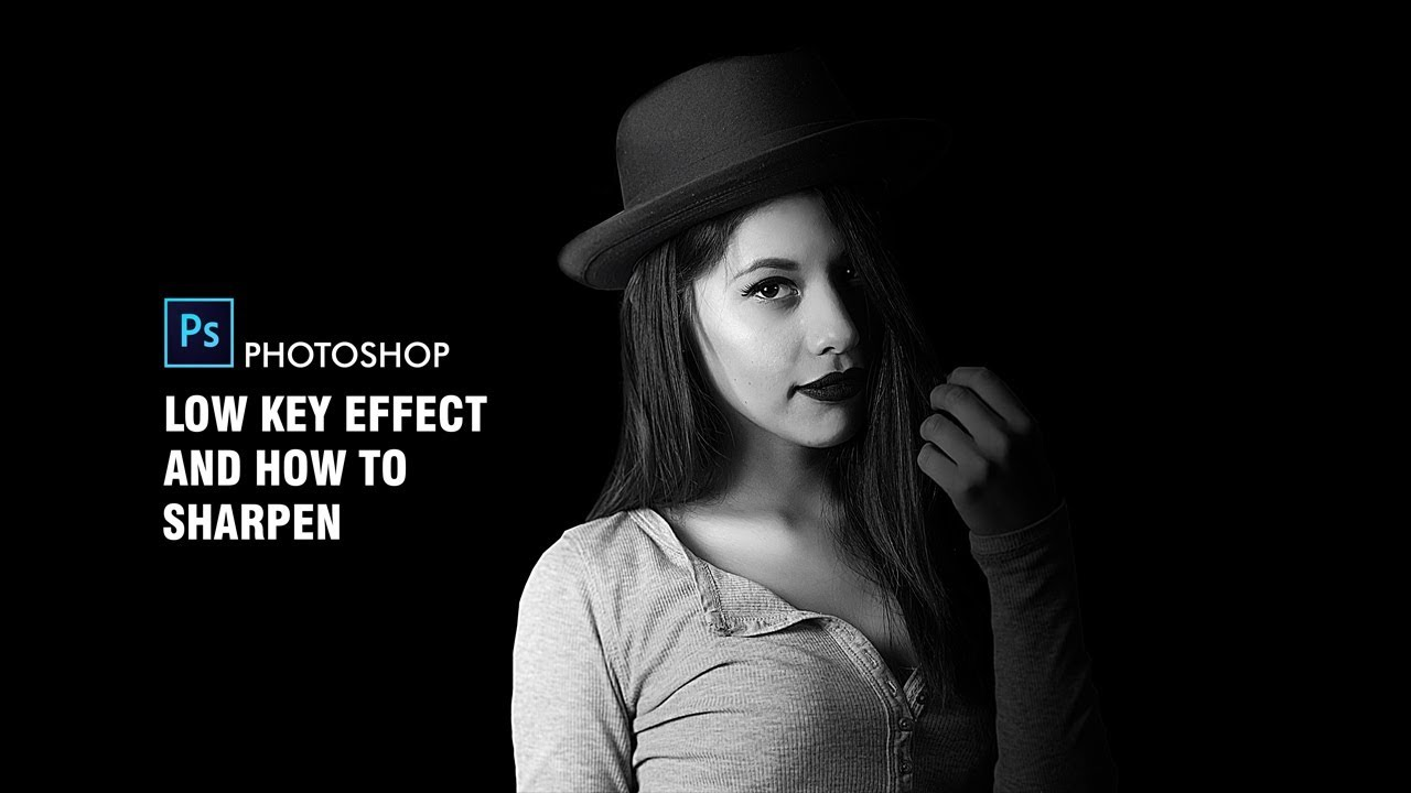 How to make low key portrait effect in photoshop amazing photo effect tutorial
