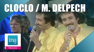 """Michel Delpech et Claude François """"C'est extra"""" de Léo Ferré (live officiel)   Archive INA"""