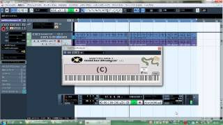 Chord Progression Original Key:d-(=D minor) コード進行:普通にII-V...