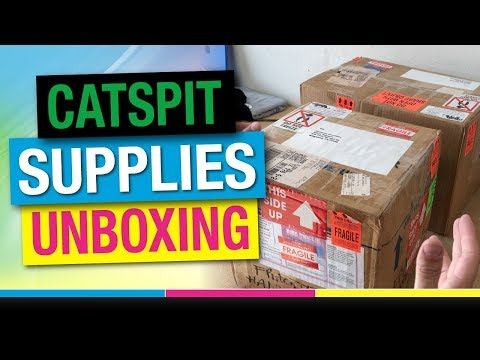Catspit Screen Printing Supplies Unboxing