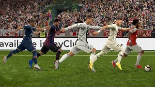 PES 2019 Speed Test - Fastest Players in PES With A Ball