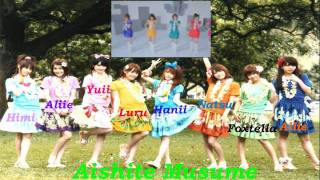 Hello Everyone!! This is Aishite Musume's second single release in ...