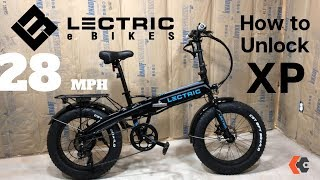 Lectric XP 28mph Unlocking + Issues and modifications | eBike