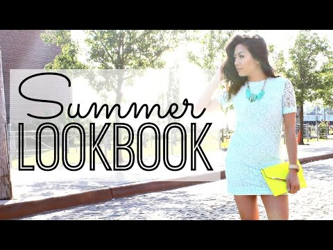 Summer Fashion Lookbook 2015 | Outfit Ideas for Casual, Dressy + Fun Summer Trends: H&M