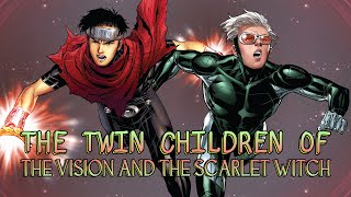 The Twin Children of The Vision and the Scarlet Witch - The Origin of Wiccan and Speed