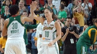 Sue Bird Records Her 2,000th Career Assist!