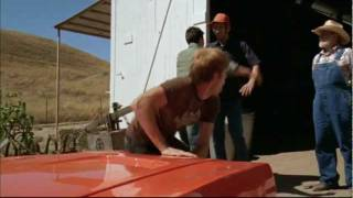 "General Lee and Bo scene from TV movie, ""Dukes of Hazzard - The Beginning"""