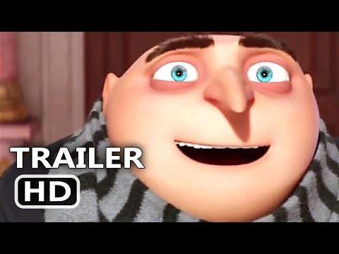 DЕSPІCАBLЕ MЕ 3 Official Trailer # 2 Tease (2017) Minions Animation Movie HD