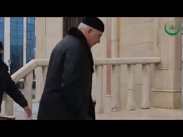 Муфтий ЧР Салах Межиев провел встречу с Председателем Верховного суда ЧР Гардалоевым Алавдином