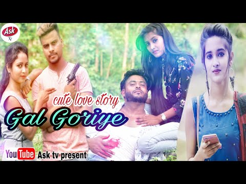 Gal Goriye High Rated Gabru | Guru Randhawa | Cute Love Story | Hindi Cover Song ASk TV/Nazrul,Aliya
