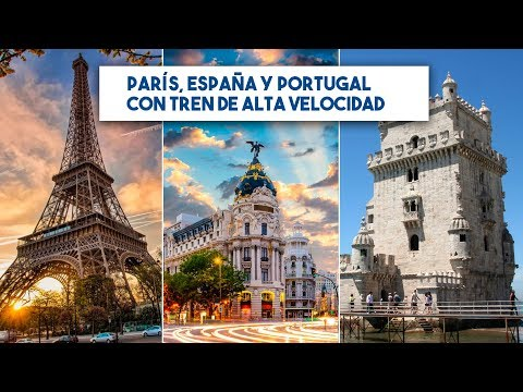 DIRECTO EUROPAMUNDO: CIRCUITO PARÍS, ESPAÑA Y PORTUGAL (con tren de alta velocidad)