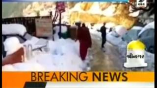Cold wave sweeps North India ॥ Sandesh News