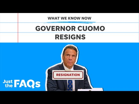 Cuomo resignation: What criminal charges he could face | Just the FAQs