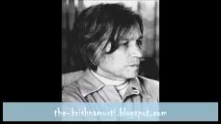 UG Krishnamurti - God is Irrelevant