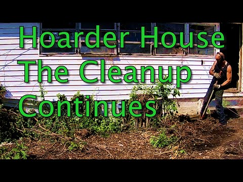 Hoarder House // The clean-up continues.