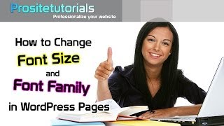 How to Change Font Size and Font Family in WordPress Posts - Easiest WAY