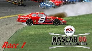 NASCAR 06: Total Team Control - Season Mode (Dale Earnhardt Inc.) - Race 1/36