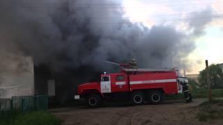 Пожар, Нарьян-Мар 15.06.2015