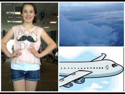 Airplane/Traveling Hair, Makeup, Outfit! + My Carry On Essentials!