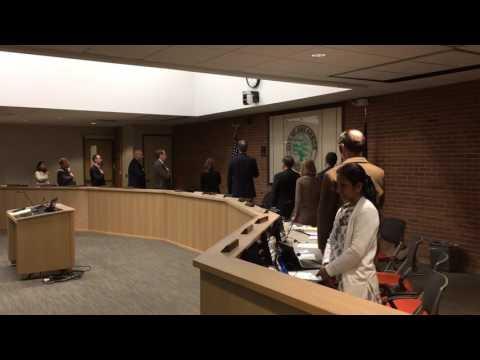 Ann Arbor City Council member doesn't recite Pledge of Allegiance