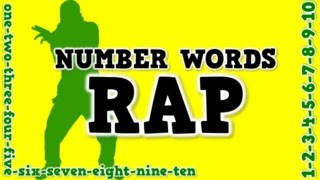 Number Words Rap (a song for spelling number words)