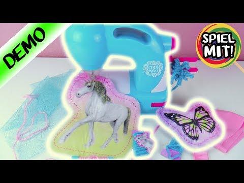 Nähmaschine für Kinder Test | Cool Maker für kleine Mode Designer | Spiel mit mir Kinderspielzeug