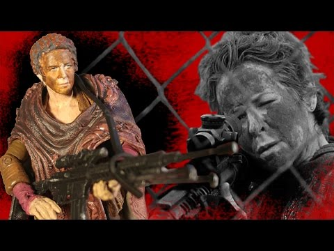 The Walking Dead Series 8 Carol Action Figure Review