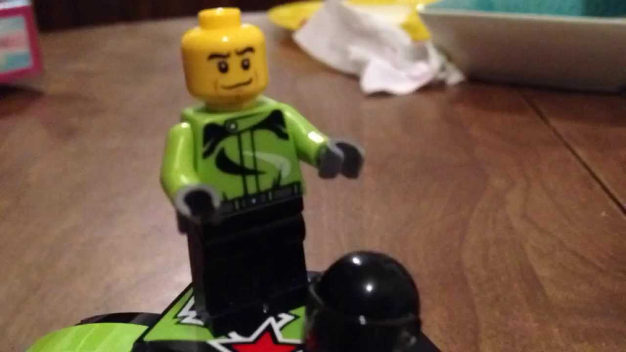 Lego Monster Truck stop motion first try haha