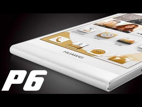 Huawei Ascend P6 - Analisis completo en español //