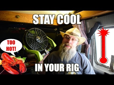 6 WAYS TO BEAT THE HEAT AND STAY COOL LIVING IN YOUR RV VAN OR CAR #vanlife #rvlife
