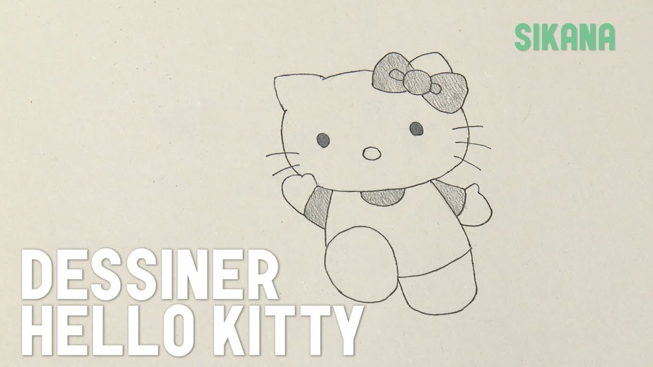 Ordinary Comment Dessiner Hello Kitty Facilement #5: Comment Dessiner Hello Kitty ?