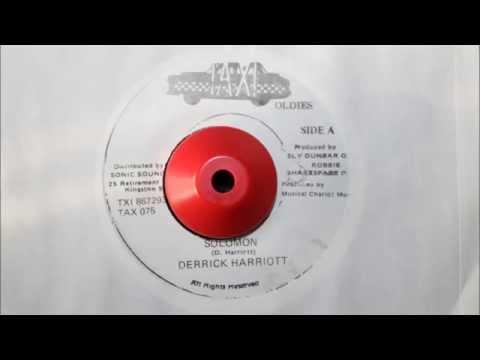 DERRICK HARRIOTT - SOLOMON