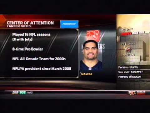 """NFLPA President, Kevin Mawae on """"Mike and Mike in the Morning"""" (Part 1)"""
